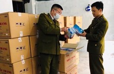 Chinese man found illegally storing large number of face masks