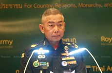Thai army chief apologises for mass shooting by soldier