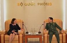 Defence Minister hosts Australian, Armenian ambassadors