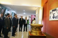 Public Security Minister To Lam visits Lao province