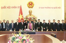 NA leader receives newly accredited diplomats of Vietnam