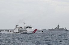 Indonesia's maritime security agency hoped to become coast guard