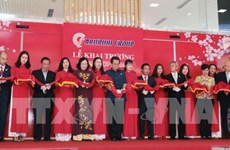 First high-class Japanese goods trade centre inaugurated