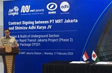 Jakarta to start work on second phase of MRT project