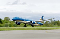 Vietnam Airlines uses wide-bodied aircraft on Hanoi-Ho Chi Minh City route
