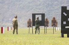 Vietnam-Australia course on service rifle shooting skills wraps up