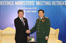 Defence Minister receives ASEAN Secretary-General in Hanoi