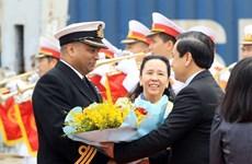 UK Royal Navy's ship visits Hai Phong