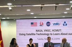 Vietnam, US cooperate in satellite observation