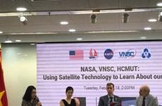 Vietnam, US cooperate in satellite observation