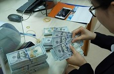 Reference exchange rate up 5 VND