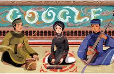 Google Doodles honours Vietnam's ca tru art