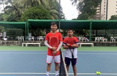 Vietnam win first matches at junior tennis tournament