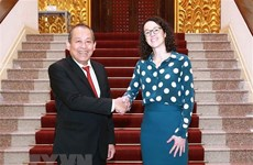 Deputy PM receives Germany's Hessen state minister