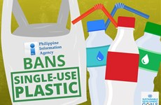 Philippines bans single-use plastics in Government offices