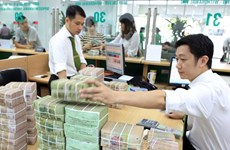 Reference exchange rate down 6 VND on February 26