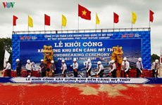 Construction of My Thuy Port begins in Quang Tri