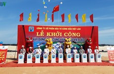 Work starts on petrol warehouse in central Quang Tri province