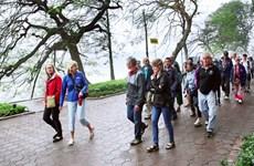 European, Oceania tourists to Hanoi on the rise