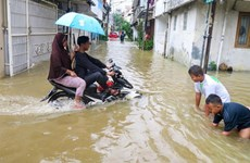 Indonesia spends over 1.4 million USD reducing flood risks in Jakarta