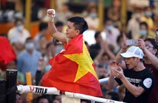 First Vietnamese female boxer wins WBO Asia Pacific competition