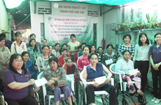 Disabled-supporting project launched in Can Tho