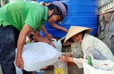 EU supports people affected by drought, saline intrusion in Vietnam