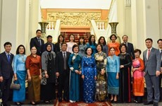 Mass mobilisation official receives ASEAN women delegation
