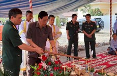 Work starts on another Vietnam-Cambodia Friendship Monument