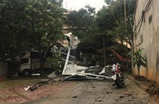 At least one killed as thunderstorms hit northern provinces