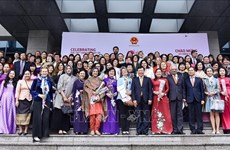 Female diplomats meet ahead of International Women Day