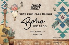 Boho flea market to open in HCM City