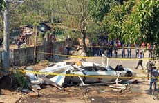 Philippines: Helicopter carrying senior police officers crashes