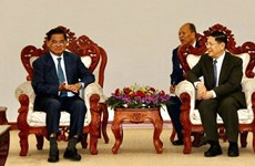 Cambodia, Laos continue working on border security issues