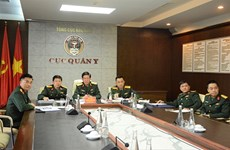 ASEAN Centre of Military Medicine discusses coordination in fighting COVID-19