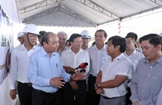 PM inspects progress of Trung Luong-My Thuan Expressway