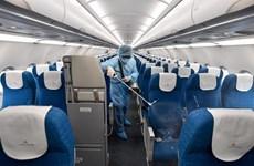 Crew of flight with COVID-19 cases negative for coronavirus