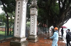 Hanoi's tourist sites closed for disinfection