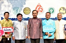 Thai PM observes anti-rabies activity, exhibition on supermarket cooperatives