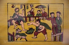 Bac Ninh completes dossier on Dong Ho folk painting genre
