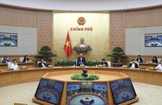 PM requests stronger countermeasures against COVID-19