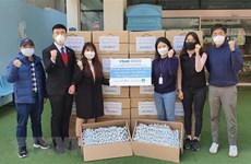 Vietnamese students in RoK receive support to fight COVID-19