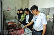 Hanoi ranks first in food safety managment