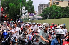 Ho Chi Minh City checks motorcycle emissions