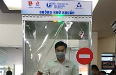 Mobile disinfection chamber launched in HCM City