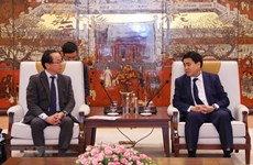 Hanoi, JICA work to accelerate ODA projects