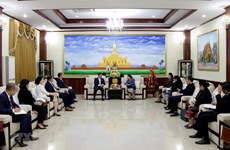 Leaders congratulate Laos on Party's 65th founding anniversary
