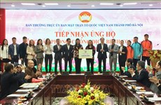 Hanoi donors contribute over 176,000 USD to COVID-19 relief effort