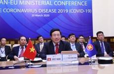 ASEAN, EU work closely in COVID-19 fight