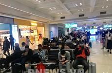 Noi Bai airport to serve 276 passengers returning home on Mar. 23